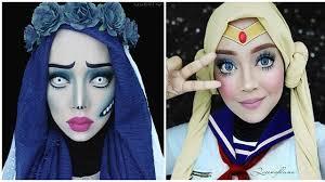 unik 7 makeup cosplay dengan hijab ini