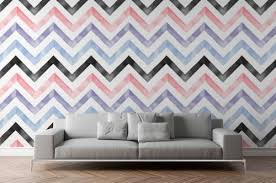 wallpaper mockup white wall with