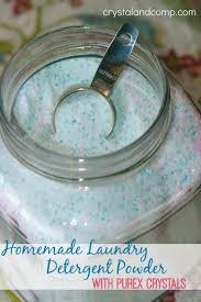 homemade laundry detergent powder with