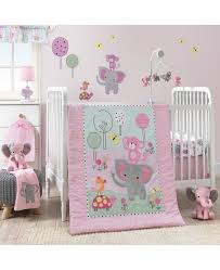 roar 3 piece crib bedding set
