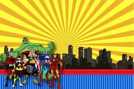 Convite Os Vingadores 3 Png 1134 756 Com Imagens Festa