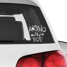 Download Hd Raising My Tribe Vinyl Car Decal Car Transparent Png Image Nicepng Com