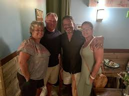 Dewey mayor meets TV anchor Bruce Johnson at Michy's | Cape Gazette