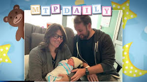 Newest addition to the MTP family: Congratulations Kasie Hunt and Matt  Rivera on birth of baby boy!