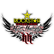 Sticker Rockstar Hart And Huntington Muraldecal Com