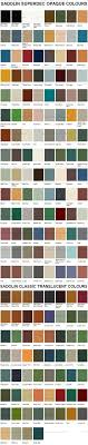 Sadolin Superdec And Classic Colour Chart Shed Colours Colorful Interiors Wood Stain Color Chart