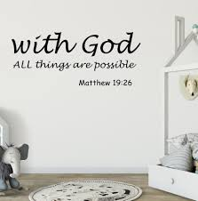 Top 8 Most Popular Wall Decals Bible Brands And Get Free Shipping A703