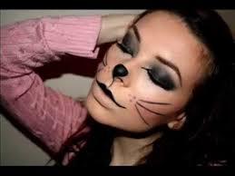 kitty cat makeup for halloween photos