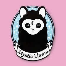 Amazon Com Mystic Llama Sticker Waterproof Vinyl Decal Handmade