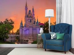 disney castle wall murals