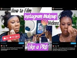 film insram makeup videos like a pro