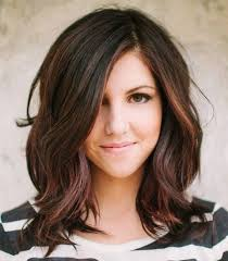 dark hair color ideas for hazel eyes