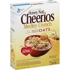 honey nut medley crunch cereal