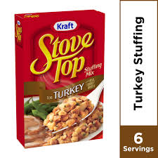 kraft stove top turkey stuffing mix 6