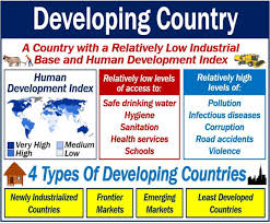 Image result for to developing countries