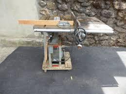 Delta Milwaukee 10 Tilting Table Saw 1940s Vintage W Miter Gauge Fence Works For Sale Online