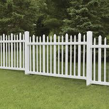 Freedom Pre Assembled Ashford 4 Ft H X 8 Ft W White Vinyl Fence Panel In The Vinyl Fence Panels Department At Lowes Com