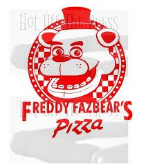 Fnaf Fazbear S Pizza Svg Dxf Files For Silhouette For Etsy