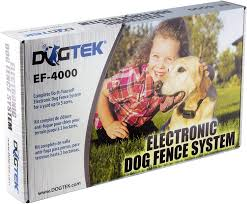 Amazon Com Dogtek Ef 4000 Electronic Dog Fence System Wireless Pet Fence Products Pet Supplies