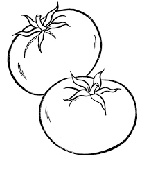 Tranh tô màu rau củ quả cho bé cực đẹp và