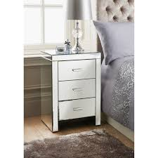 florence 3 drawer bedside table table