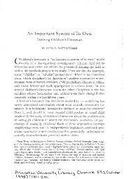 PDF) An Important System of Its Own: Defining Children's Literature | Ruth  B Bottigheimer - Academia.edu