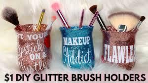 1 diy glitter gl brush holder 2019