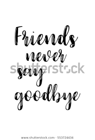 inspirational quotes about friendship hand lettering stock vector