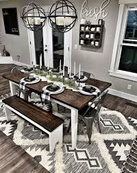 Pin by Freida Smith on Home in 2020 | Farmhouse dining room table ...