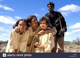 Rabbit Proof Fence Movie Famous Aboriginal Actor David Gulpilil Stock Photo Alamy