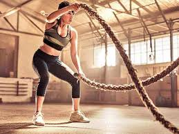 have you tried the battle ropes yet