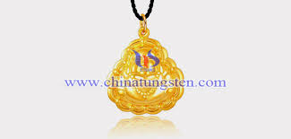 gold plated tungsten alloy lord buddha