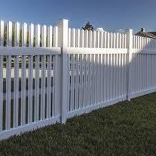 Vinyl Fence Fence Panels At Lowes Com Vinyl Fence White Vinyl Fence Vinyl Fence Panels