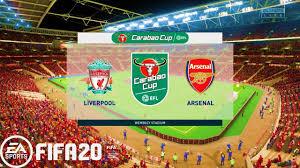 Carabao Cup 19-20 Liverpool vs Arsenal ...