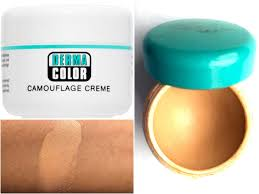 dermacolor camouflage cream shade chart