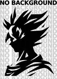 Goku Dragon Ball Z Silhouette Dbz Wall Car Truck Window Vinyl Sticker Decal Ebay