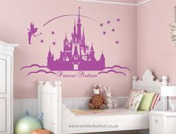 Fairy Tale Disney Princess Cinderella Castle Violet And Rose Description From Pinterest Com I Searched For This Princess Wall Art Themed Kids Room Girl Room