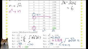 เฉลยใบงานที่ 5 หน่วยที่ 2 คณิตศาสตร๋ ม.2 DLTV เรียนออนไลน์ /  การหาค่ารากที่สอง วันที่ 10/6/2563 - YouTube