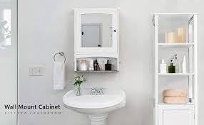 com topeakmart bathroom cabinet