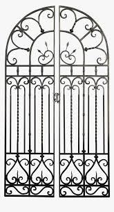 Transparent Iron Fence Png Wrought Iron Gate Png Png Download Transparent Png Image Pngitem