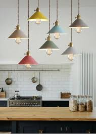 cone shade industrial pendant light