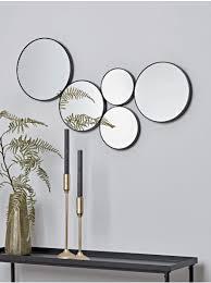 new black circles decorative mirror