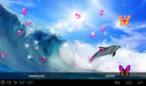 free 3d dolphin live wallpapers apk