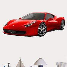 Ferrari Wall Decal Wayfair