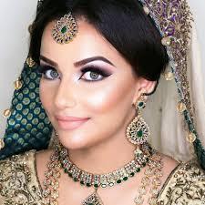 indian bridal makeup in dubai