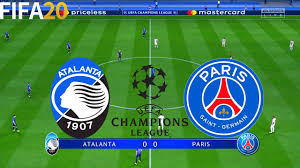 FIFA 20 | Atalanta vs PSG - Champions League - Full Match ...