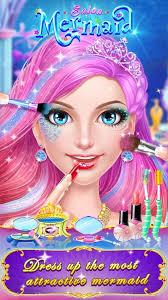 free mermaid makeup games