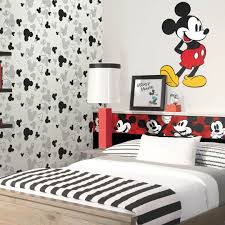 Disney Kids Classic Mickey Mouse Wall Border Red Disney Kids Rooms Mickey Mouse Kids Room Mickey Mouse Bedroom