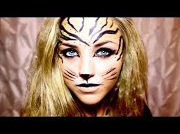 tiger halloween makeup you