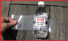 How To Cheaply Waterproof Water Bottle Labels Diy Tutorial